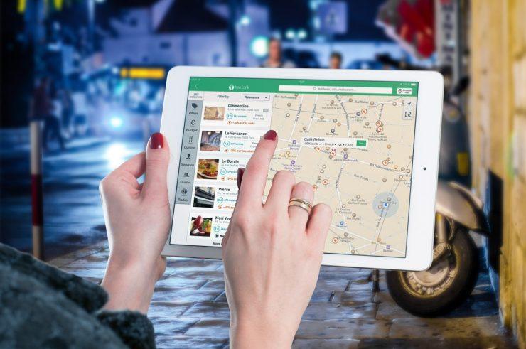 navigacija gps android